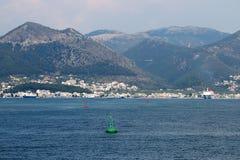 Igoumenitsa port with ferryboats. Greece Royalty Free Stock Images