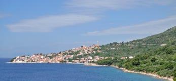 Igrane, Makarska Riviera, Dalmatien, Kroatien Lizenzfreie Stockbilder