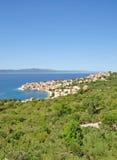 Igrane, Makarska Riviera, Dalmatien, Kroatien Lizenzfreies Stockbild
