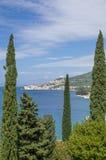 Igrane, Makarska Riviera, Dalmatien, Kroatien Lizenzfreies Stockfoto