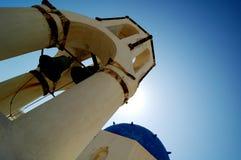 Igreja 2 da cidade de Oya Foto de Stock