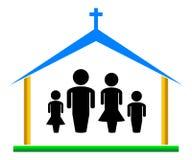 Igreja ilustração stock