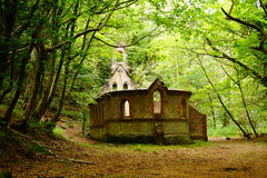 Igreja abandonada Foto de Stock