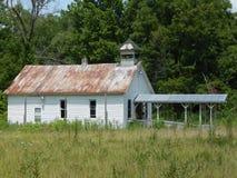 Igreja abandonada imagens de stock