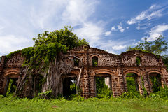 Igreja abandonada fotografia de stock royalty free