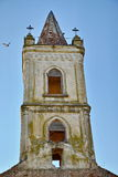Igreja abandonada Fotos de Stock