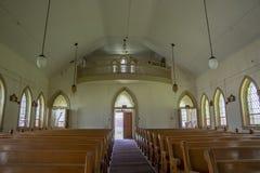 Igreja abandonada na jarda de prisão Imagem de Stock Royalty Free