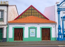 igreja adventista de Sétimo-dia, Angra, Açores Imagem de Stock