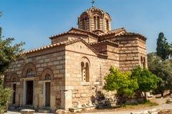 Igreja Agios Nikolaos Ragavas Fotografia de Stock Royalty Free