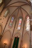 Igreja agradável em França imagens de stock royalty free