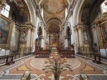 Igreja aka San Filippo Neri de Madonna di Galliera na Bolonha fotografia de stock