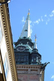 Igreja alemão em Éstocolmo Foto de Stock