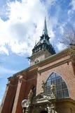 Igreja alemão em Éstocolmo Fotografia de Stock
