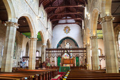 Igreja anglicana Fotos de Stock Royalty Free