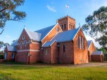 Igreja anglicana de Austrália em York, Austrália Ocidental Fotos de Stock Royalty Free
