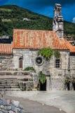Igreja antiga em Budva, Montenegro Fotos de Stock Royalty Free