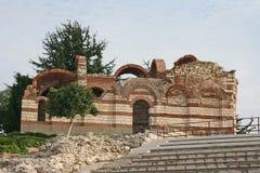Igreja antiga em Nessebar, Bulgária Foto de Stock Royalty Free
