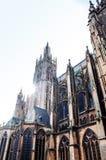 Igreja antiga em Paris Fotografia de Stock