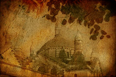 Igreja antiquado Imagens de Stock Royalty Free