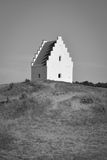 igreja Areia-coberta, Skagen, Dinamarca Imagens de Stock