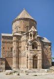 Igreja arménia antiga no console de Akhtamar Foto de Stock Royalty Free