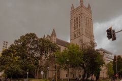 Igreja Auckland fotografia de stock