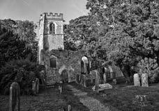 Igreja, Ayot St Lawrence, Hertfordshire Fotografia de Stock
