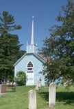 A igreja azul Fotos de Stock