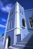 Igreja azul, Bermuda. Imagem de Stock Royalty Free