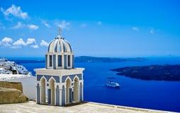 Igreja azul da abóbada fotografia de stock royalty free