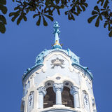 Igreja azul em Bratislava Imagem de Stock