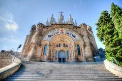 Igreja Barcelona HDR Imagem de Stock Royalty Free