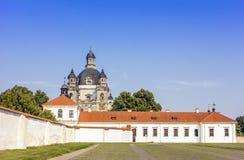 Igreja barroco e monastério imagem de stock royalty free