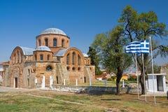 Igreja bizantina Imagens de Stock