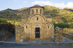 Igreja bizantina em Fodele Imagens de Stock Royalty Free