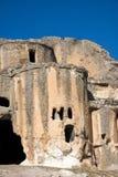 Igreja bizantina no vale Turquia de Phrygian Fotos de Stock