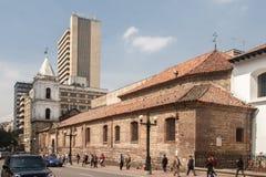 Igreja Bogotá Colômbia de San Francisco fotografia de stock