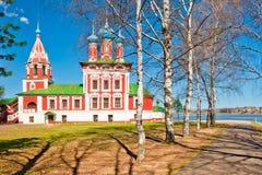 Igreja bonita do russo imagens de stock