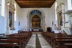 Igreja bonita em croatia fotografia de stock
