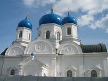 Igreja branca Fotos de Stock Royalty Free