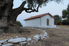 Igreja branca Imagens de Stock