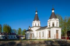 Igreja branca Foto de Stock