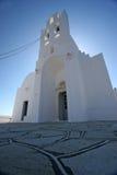 Igreja branca Imagem de Stock