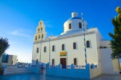 Igreja branca Fotografia de Stock
