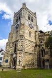 Igreja britânica do marco de Waltham Abbey Town imagem de stock royalty free