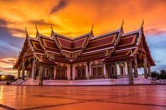 Igreja budista imagem de stock