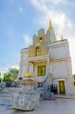 Igreja budista em Banguecoque Imagem de Stock