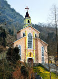 A igreja Católica Foto de Stock Royalty Free