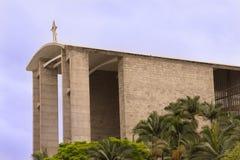 Igreja Católica - catedral rude - Santa Catarina, Brasil foto de stock royalty free