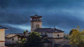 Igreja Católica de Cizhong fotografia de stock